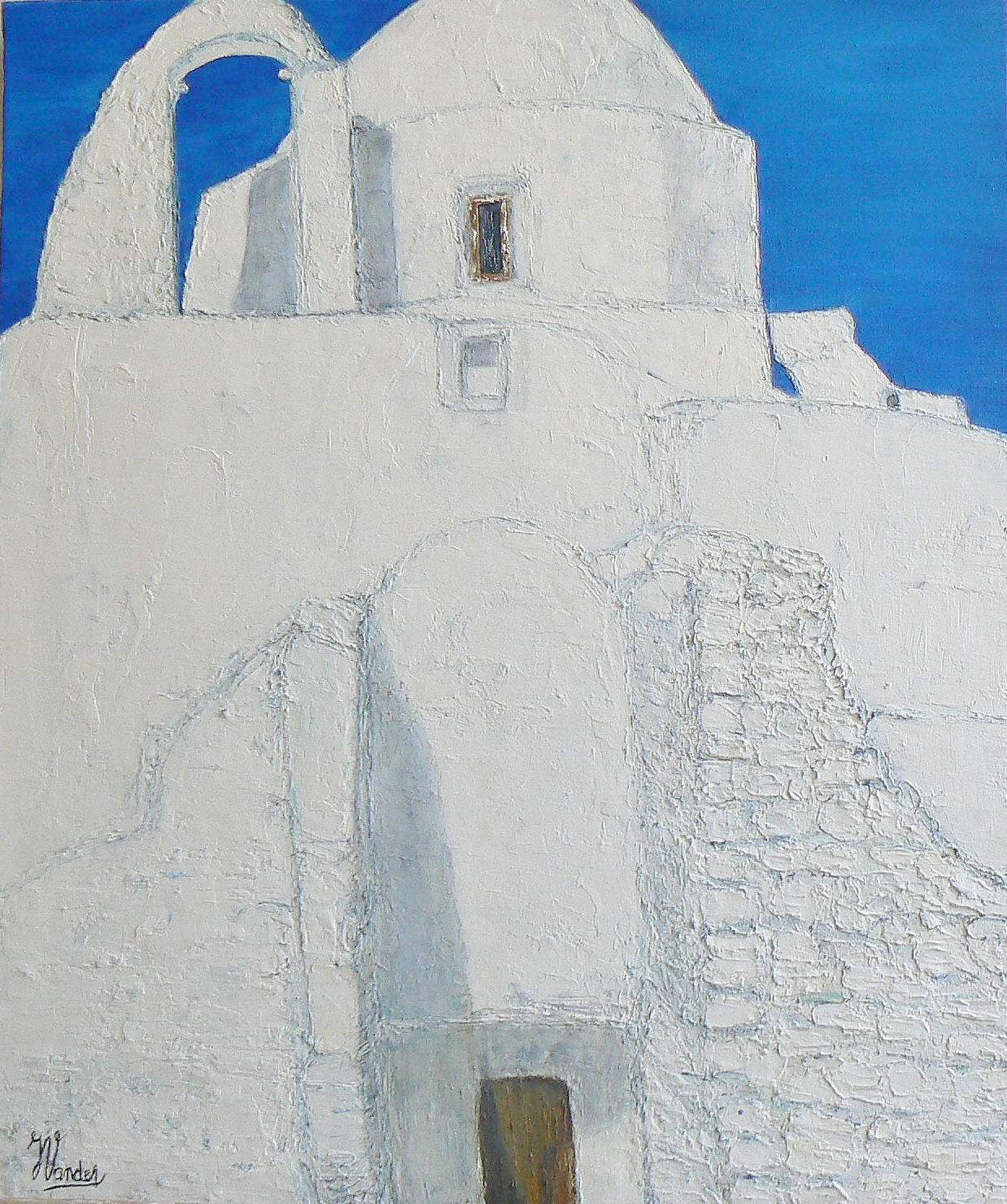 Greek Walk (46x55)