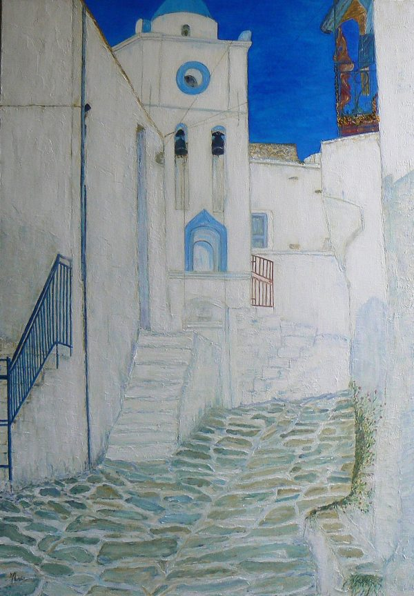Greek Village (81x116)