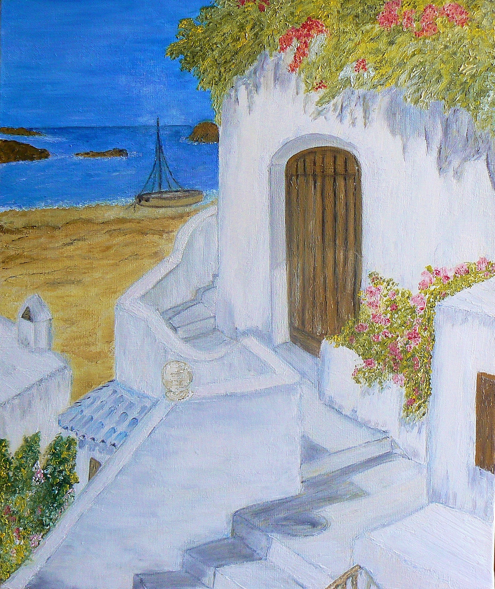 Holiday in the Sun (46x55)